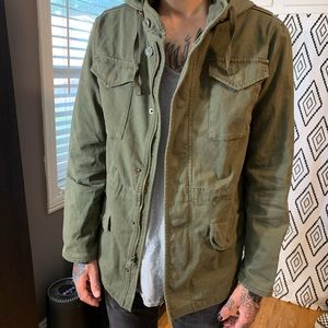 RSQ men's cargo jacket